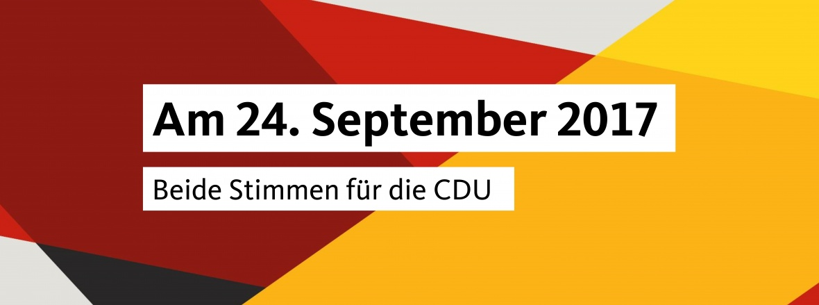 Bundestagswahl am 24 September 2017