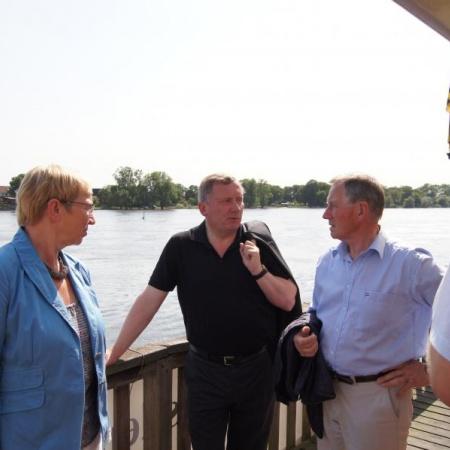 Kultur-Tour mit Ministerin Spoorendonk und Kreispräsident Füllner