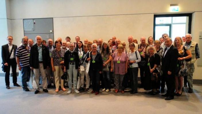Besuchergruppe aus Ahrensburg