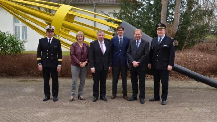 Besuch der Bundespolizei See in Neustadt