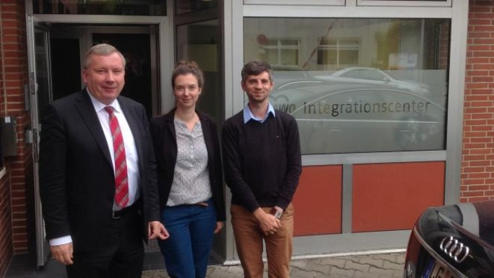 Besuch beim AWO-Integrationscenter in Geesthacht