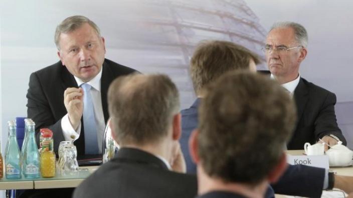 Gast beim CDU-Wirtschaftsrat in Berlin